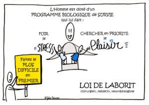 Image Gestion du temps Loi Laborit 01
